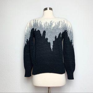 Vintage 1990s Black Sweater S